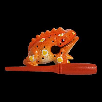 """4"""" Pumpkin Frog"""