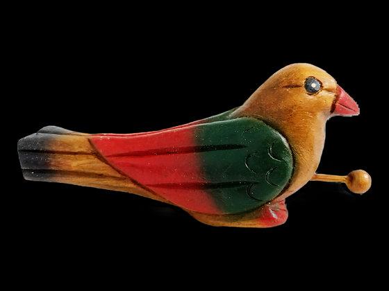 "5"" Painted Bird"