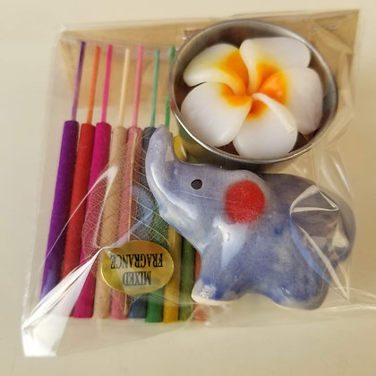 Mini Candle and Incense Set