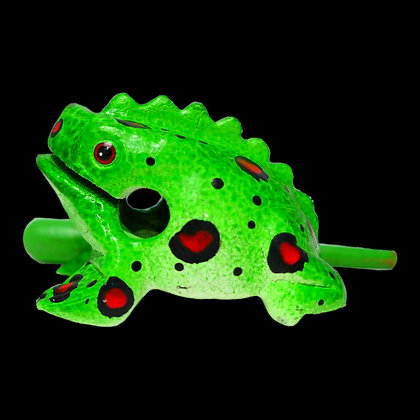 """3""""  Green Fire Frog"""