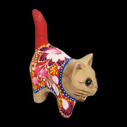 Unique Colorful Tail Cat