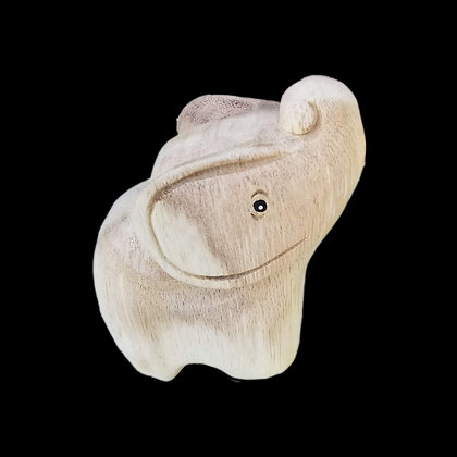 Wooden Good Luck Elephant