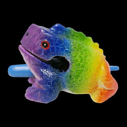 "3""  Rainbow Frog"