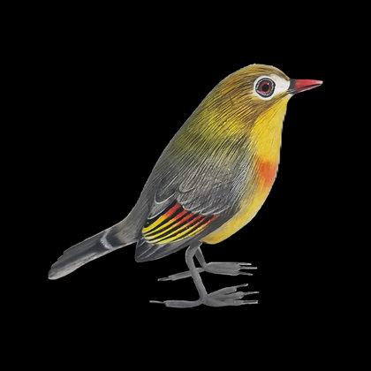 Yellow Bird Hand Painted