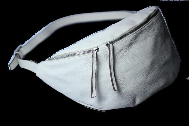 Hypnos Hakiki Deri Kadın Çanta Beyaz