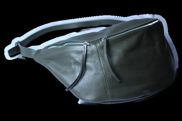 Hypnos Hakiki Deri Kadın Çanta Yeşil