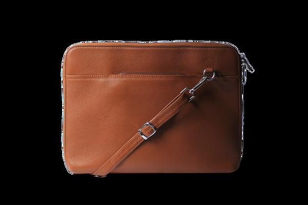 Pan Hakiki Deri Laptop ve Tablet Çantası Taba
