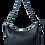 Tyche Hakiki Deri Kadın Çanta Siyah