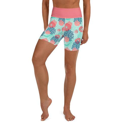 Belize Yoga Shorts