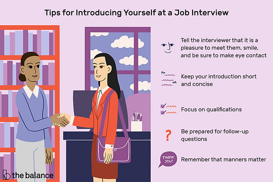 how-to-introduce-yourself-at-a-job-inter