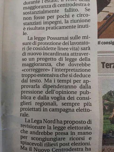 Articolo Stampa Regionale