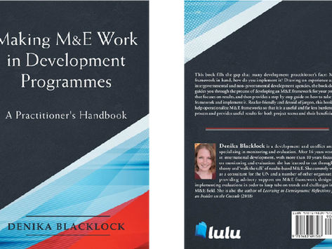 Making M&E Work in Development Programmes: A Practitioner's Handbook