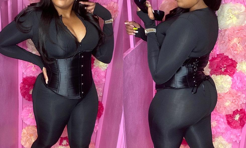Black Corest Jumpsuit