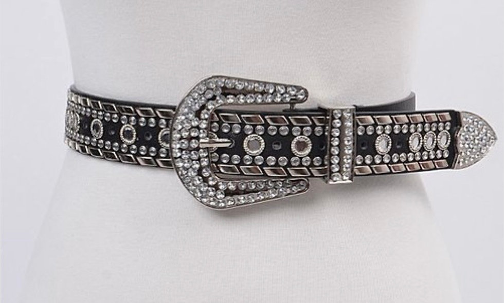 """Studded Out"" Belt"
