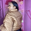Thumbnail: GG BOMBER JACKET *model wearing size 2x*