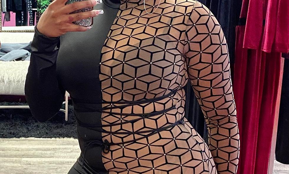 """Sheer Perfection"" Dress"