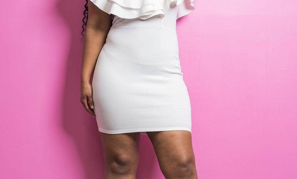 """White-Out"" Dress"