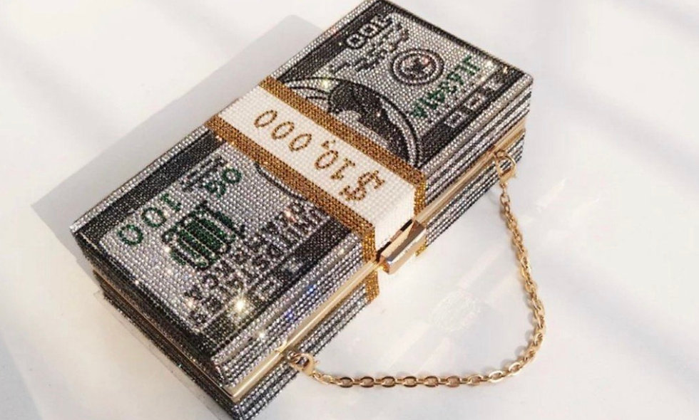 """Money Box"" Purse"