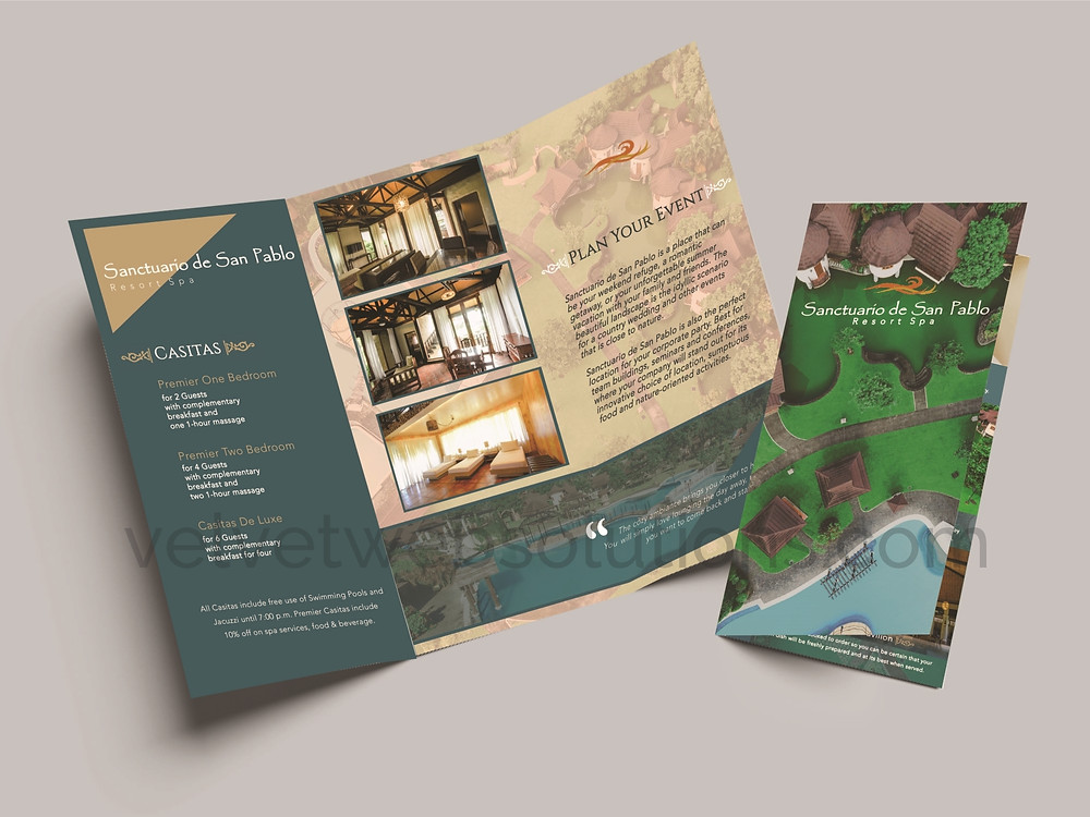 Sanctuario de San Pablo Brochure Design 2 © 2019 VelvetWeb Solutions