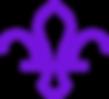 Fleur de lis marque Purple.png