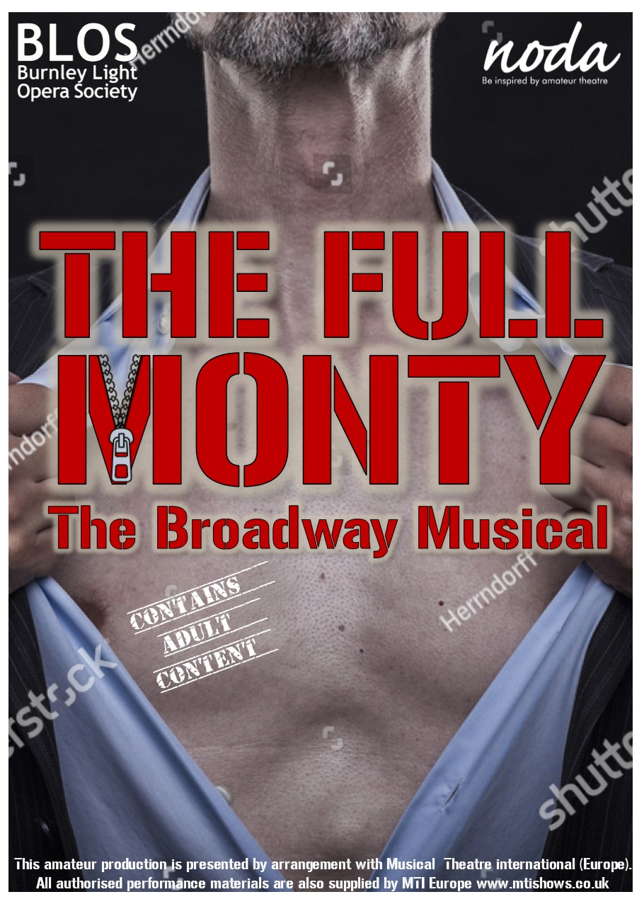 The Full Monty Leaflet Idea  Front