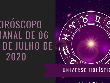 Horóscopo Semanal de 06 a 12 de Julho de 2020