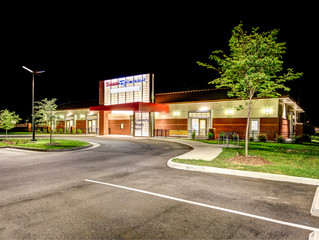 Architectural Lighting Shoot for the Kiddie Academy of Virginia Beach