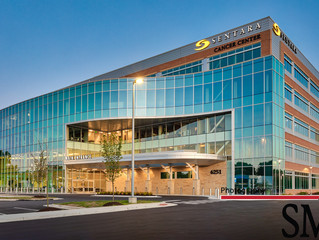 Sentara Cancer Center Architectural Photography