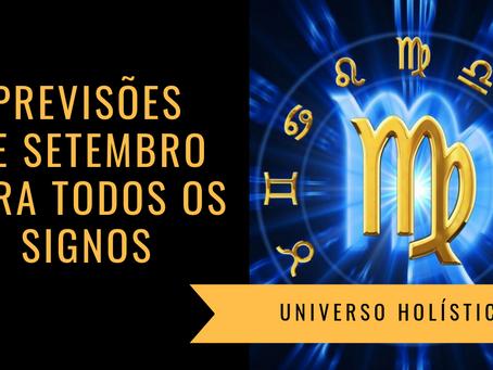 Horóscopo Setembro/19 para todos os Signos
