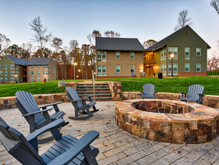 Hampden Sydney's new Upperclass Student Housing (Architectural Photography)