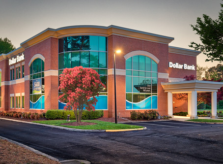 Architectural Photography Dollar Bank