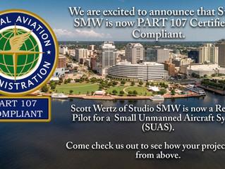 Studio SMW is in the Sky!