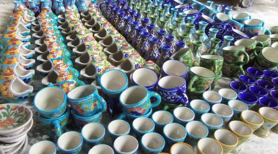 Tea Cups in India