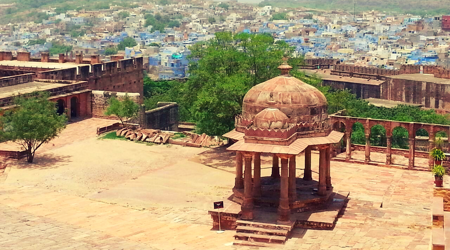 View Over India