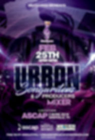 Feb Urban Songwriters and Producers Mixe