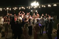 hands up bride