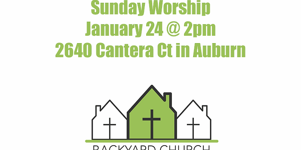 Worship for January 24