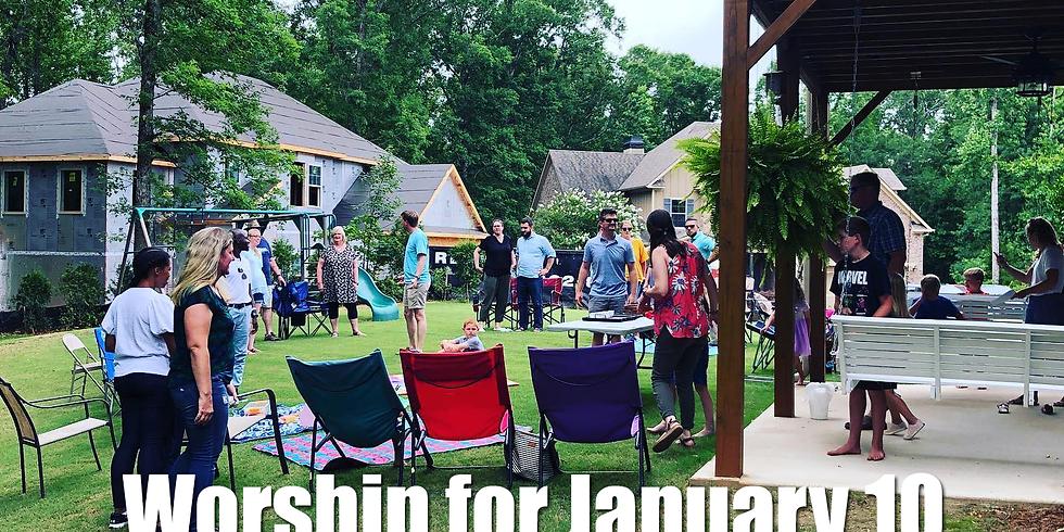 Worship for Jan 10