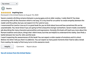 For land or love review on Amazon.png