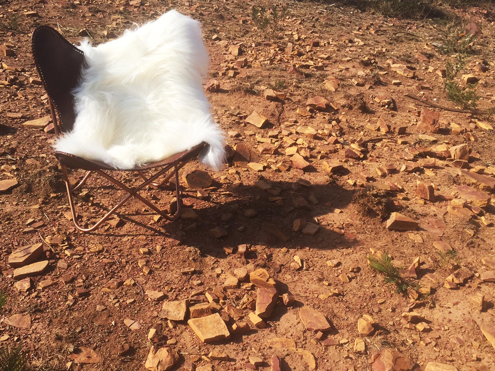 Natural White Icelandic Sheepskin