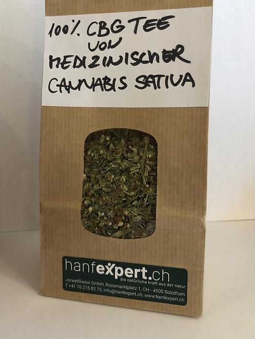CBG Tee von Medizinischer Cannabis Sativa 100%