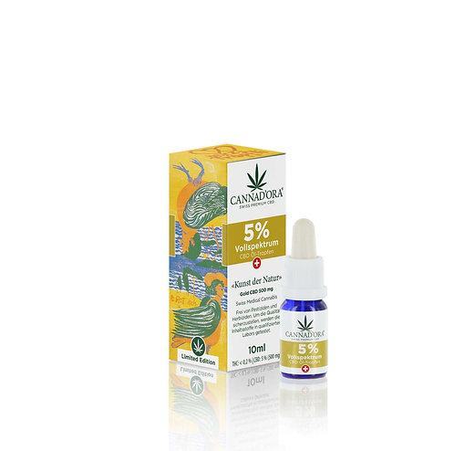 NEU Cannad'ora 5% CBD Öl Vollspektrum Limited Edition