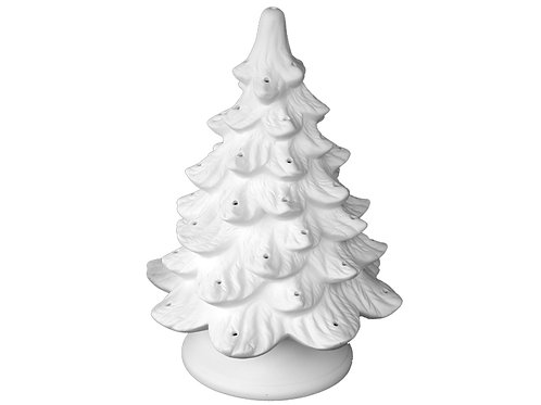 Large Lighted Christmas Tree