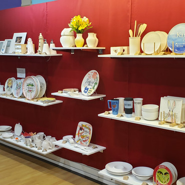 We have lots of ceramics to choose from!