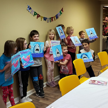 Birthday party fun!