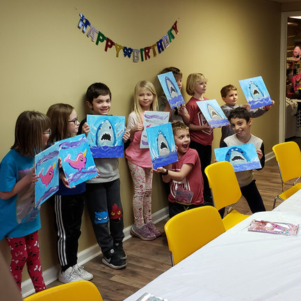Birthday party fun!