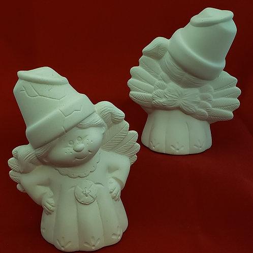 Flower Pot Angel, standing
