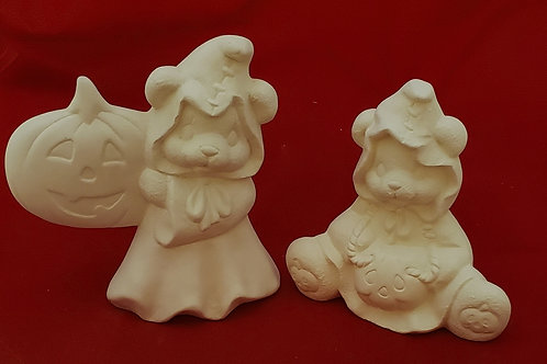 Bear-y Cute Ghosts