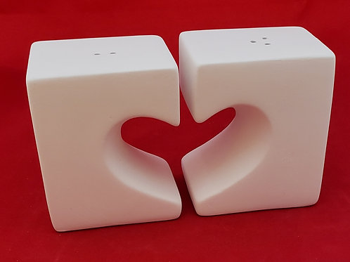 Heart Salt and Pepper Set