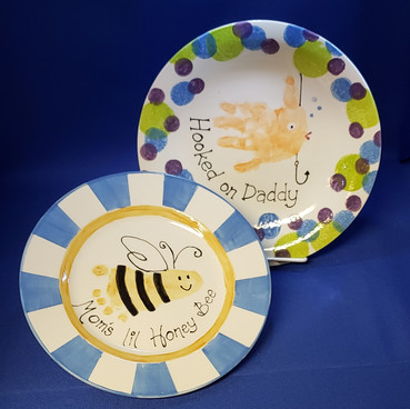 We do handprint plates too!